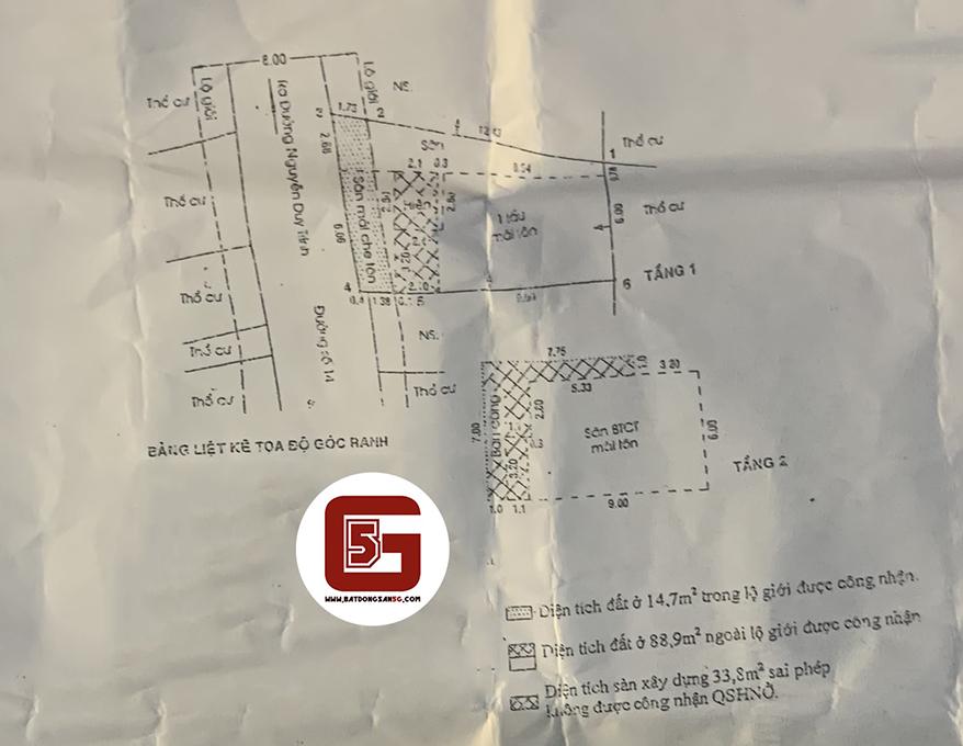 Bán nhà mặt tiền đường số 14, khu phố 6, Phường Bình Trưng Tây, Quận 2, TP Thủ Đức, TP HCM