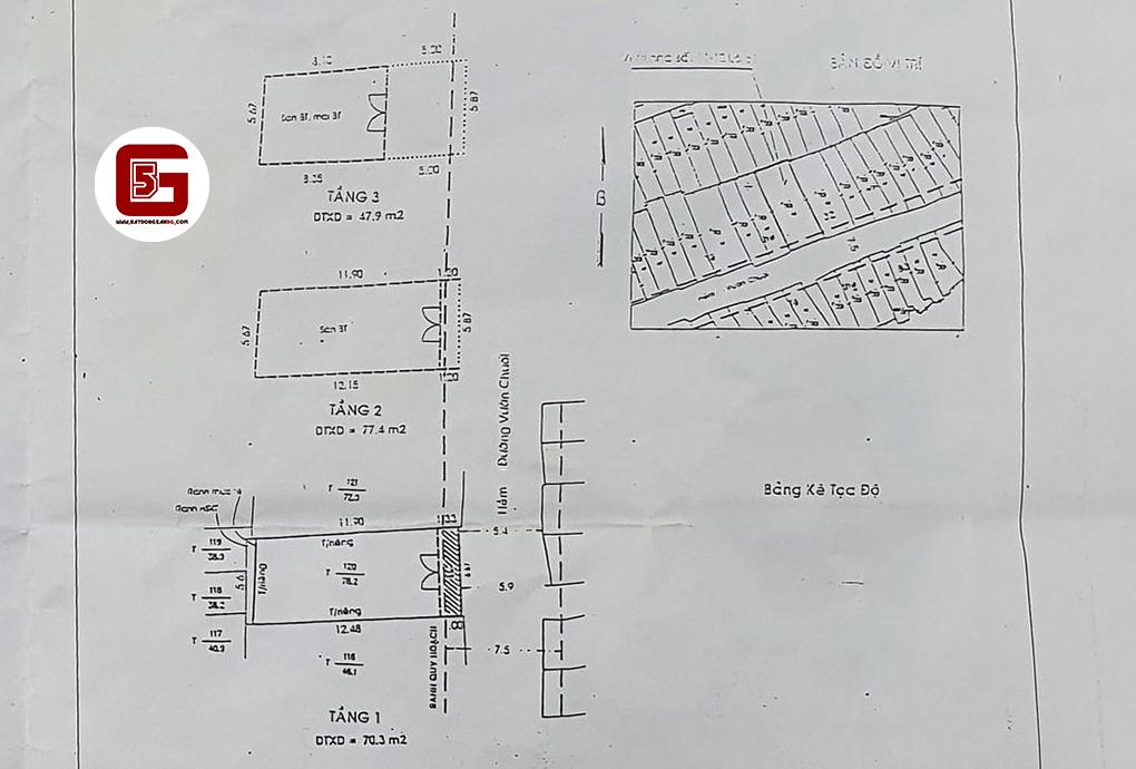 Bán nhà hẻm Oto đường Vườn Chuối, Phường 4, Quận 3, Tp HCM