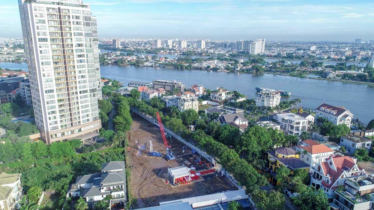 Cập nhật tiến độ dự án Thảo Điền Green Towers