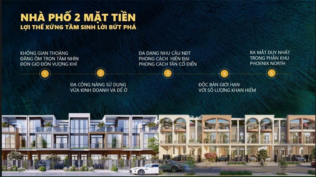 Ra mắt sản phẩm nhà phố 2 mặt tiền duy nhất tại AQUA CITY PHOENIX NORTH
