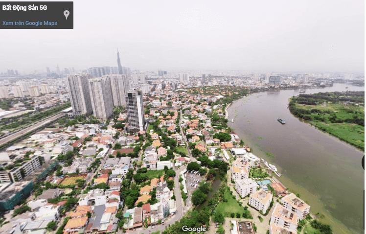Thảo điền qua ảnh 360 nhìn từ trên cao