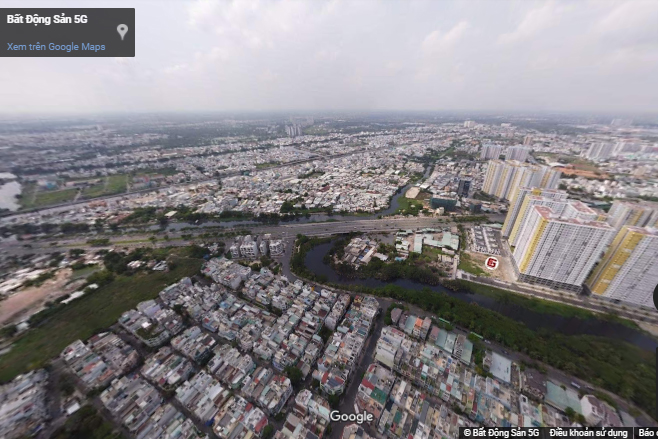 Quận 6 qua ảnh 360 nhìn từ trên cao