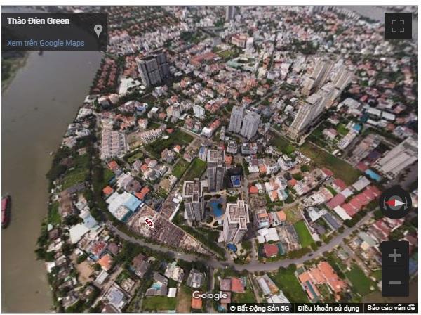 Góc nhìn từ trên cao qua ảnh 360 độ Dự án Thảo Điền Green Towers