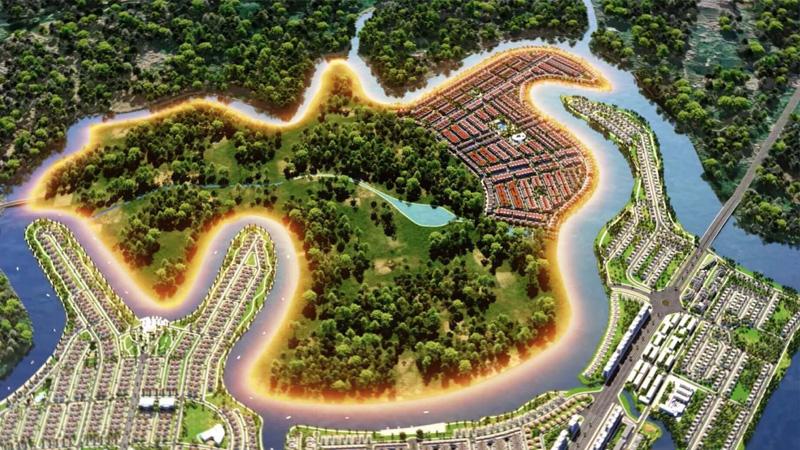 Tận hưởng không gian sống nơi đô thị đảo Phượng Hoàng