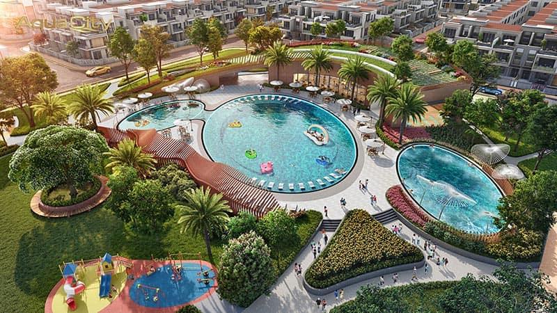 hồ bơi phong cách Resort