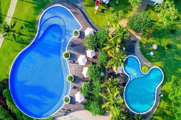 Hồ bơi tiêu chuẩn resort 5 sao tại dự án SwanBay