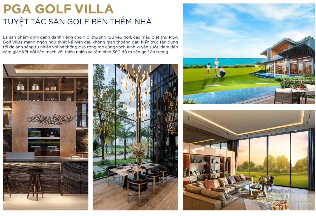 Kiến trúc Pga golf villa